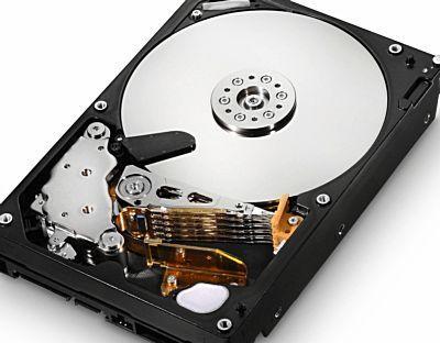 как выглядит жесткий диск без крышки