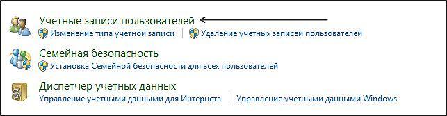 как изменить имя пользователя в панели управления