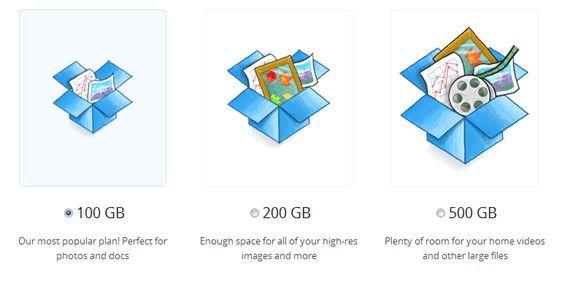 Как отправить файл большого размера: Dropbox