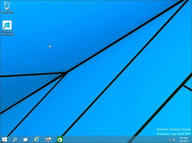переустановка Windows 10 завершена