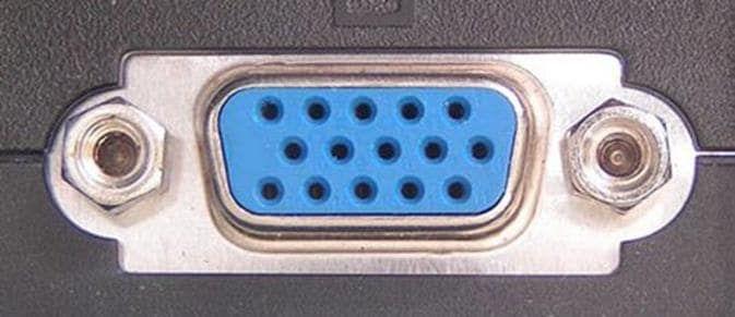 Видеовыход VGA