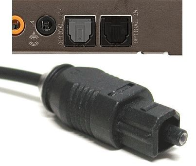 оптический разъем и кабель