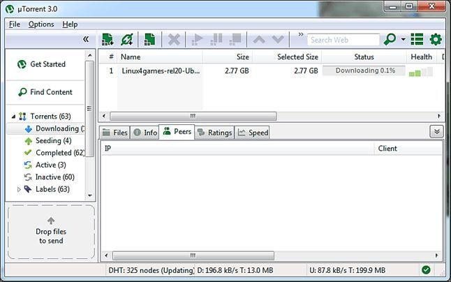 Как пользоваться торрентом с помощью программы µTorrent
