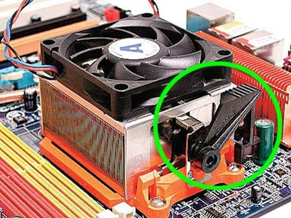 Стандартная система охлаждения процессоров AMD