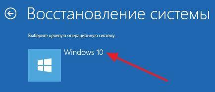 выбор Windows 10