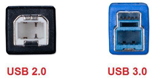 USB разъемы на принтере