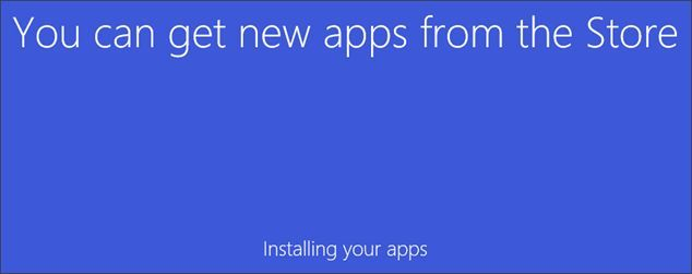 дожидаемся завершения установки Windows 10