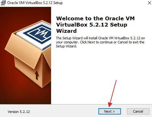 установка ORACLE VirtualBox