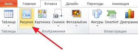 кнопка для вставки GIF файла