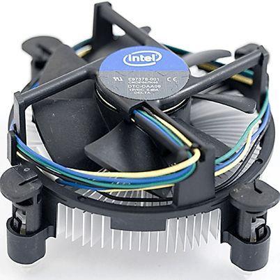 Стандартный кулер для процессора Intel