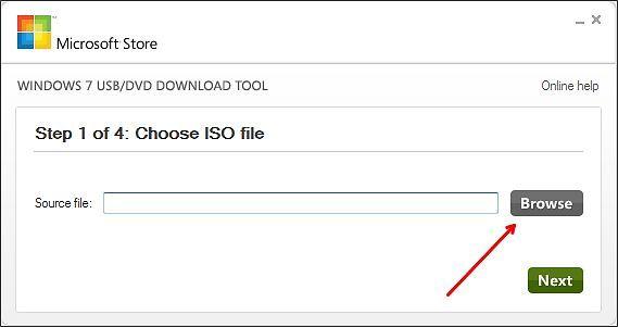 выбераем ISO файл