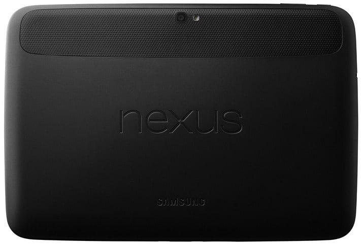 Задняя панель Nexus 10