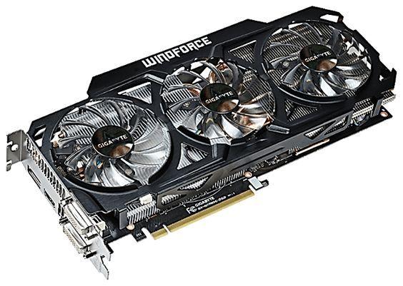 Видеокарта с PCI Express