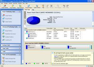 Программа для разбивки жесткого диска paragon partition manager