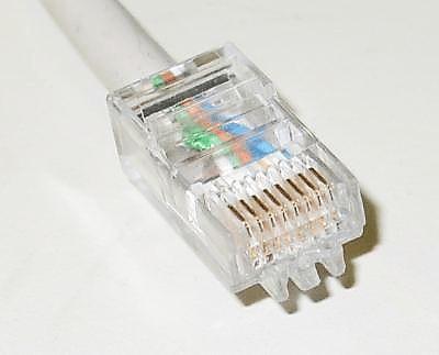 Сетевой кабель не подключен: RJ-45
